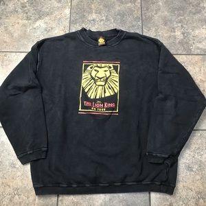 VTG 90's Disney The Lion King Sweatshirt Size L